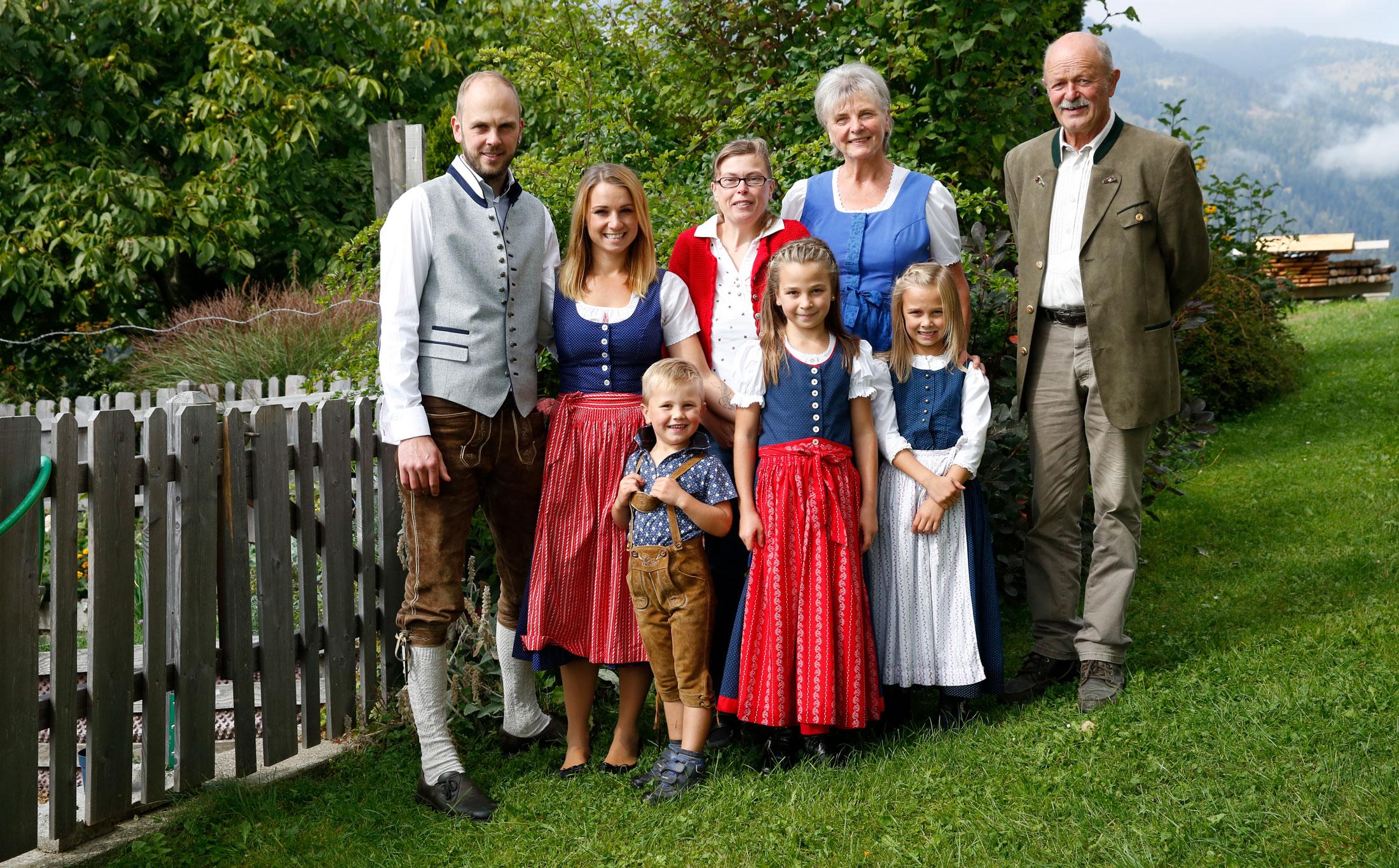 Bergbauernhof Ofner Familie