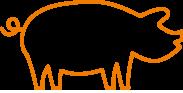 Bergbauernhof Ofner Icon Schwein
